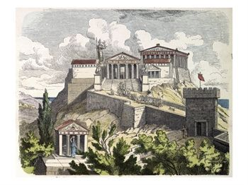 Acropolis at Athens: