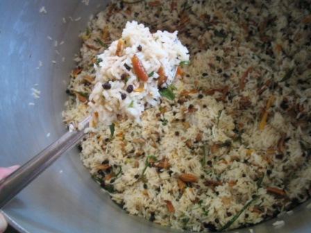 Canadian Pecan Rice:
