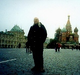 Chillin' in Red Square, Moscow: