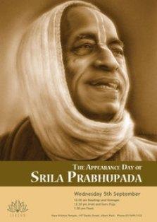 prabhupada's birthday:
