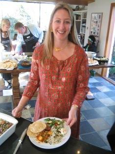 Rachel our host:
