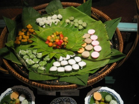 Thai sweets: