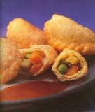 curry puffs: