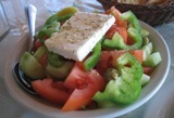 greek salad: