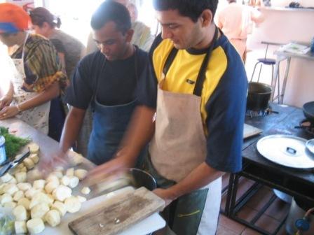 kitchen action: