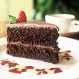 my carob cake: