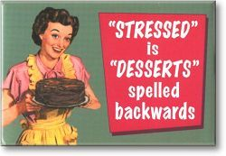 stressed:
