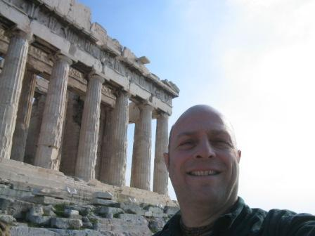 the Parthenon: