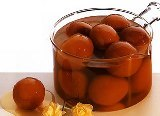 the famous gulab jamuns:
