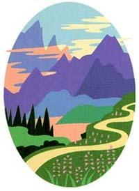 winding road: